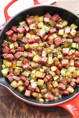 Corned Beef and Hash (Serves 2)