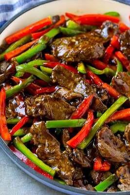 Pepper Beef Stir Fry - GF
