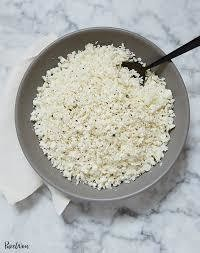 Cauliflower Rice - GF