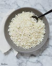 Cauliflower Rice - GF