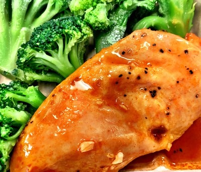 Firecracker Chicken w/ Steamed Broccoli (Individual)