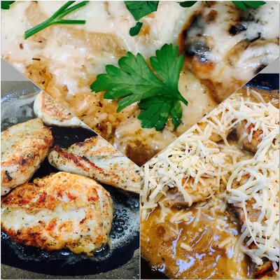 Skillet French Onion Chicken