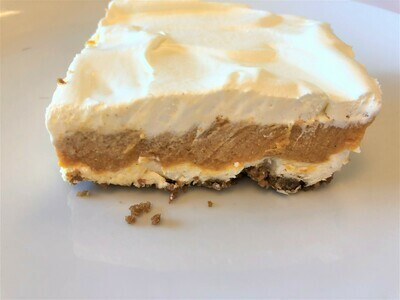 Layered Pumpkin Gingersnap Dessert