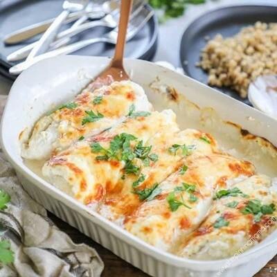 Baked Garlic Parmesan Chicken - GF