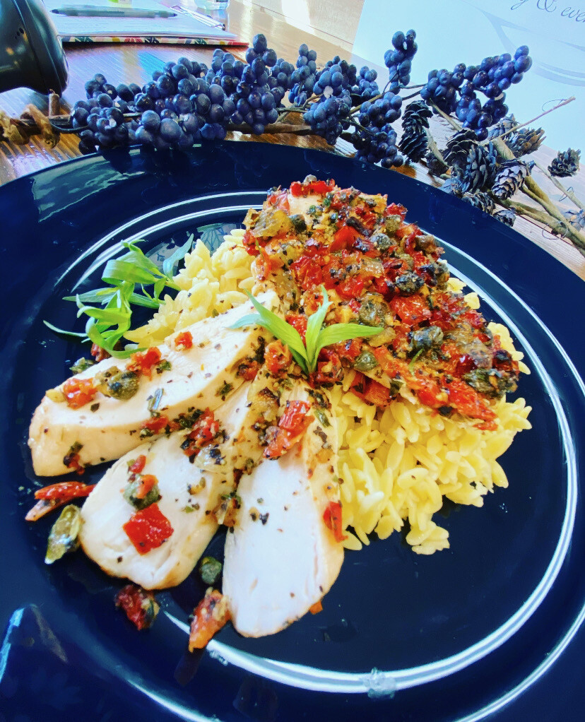 Tuscan Bistro Chicken w/Orzo