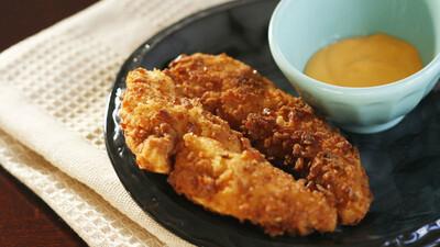 Gluten-Free Pretzel Crusted Chicken