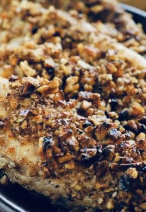 Gluten Free Pecan Crusted Chicken Breast
