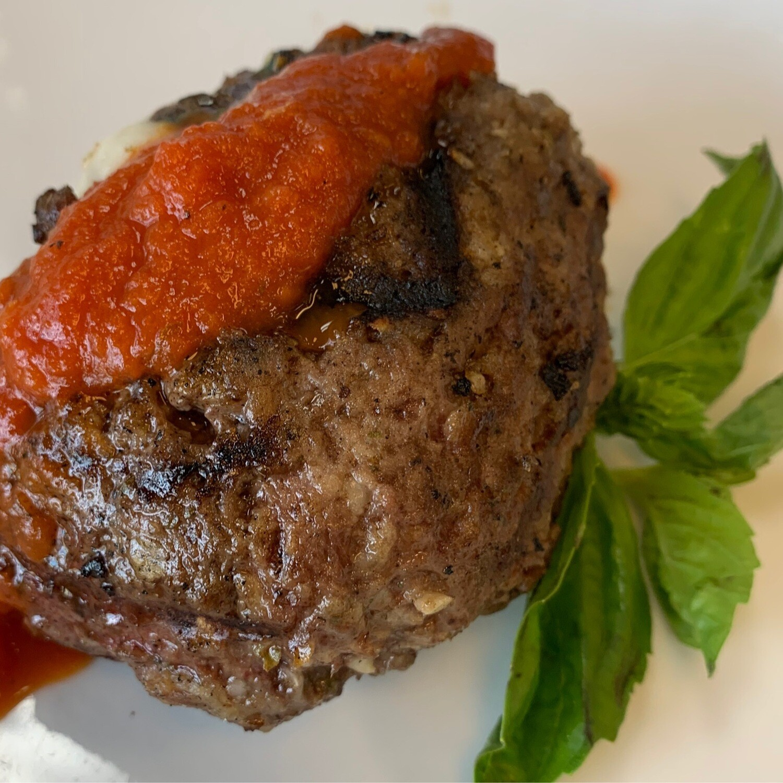 Italian Cheese Stuffed Italian Meatloaf