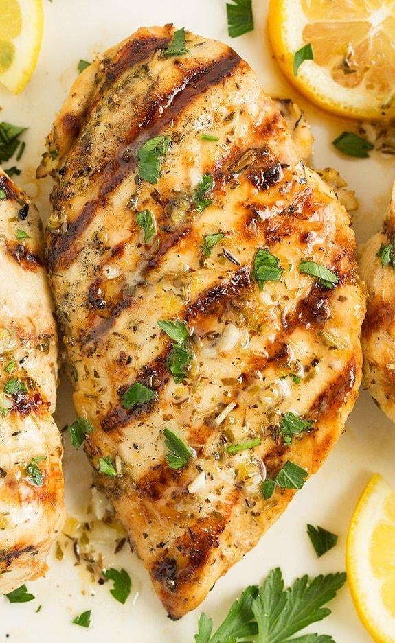 Grilled Greek Lemon Chicken- GF