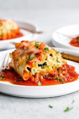Lasagna Florentine Roll Ups