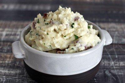 Roasted Garlic Mashed Potatoes- GF (Serves 4)