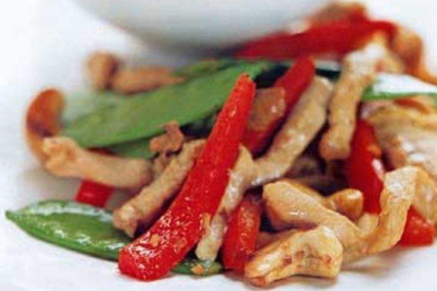 Cashew Pork Stir Fry - GF