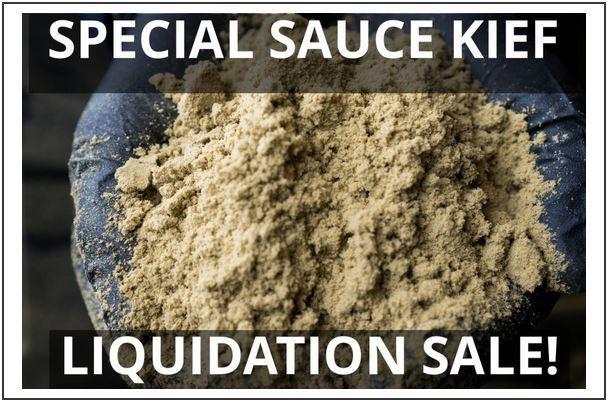 Special Sauce Kief -MULTIPLE POUNDS (Wholesale)