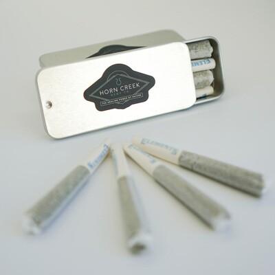 CBD PRE-ROLLS- 4 Pack (1/2 Gram Each)