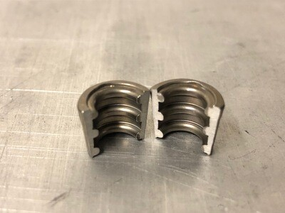 Kent FF1600 Collet retainers - pair