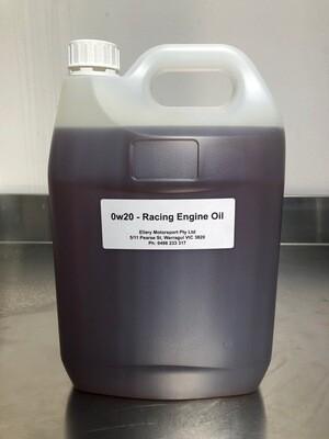 0w20 Racing Engine Oil
