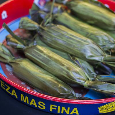 6 Tamales: Chicken Tinga