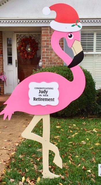 Retirement Lawn Sign Rental 00003