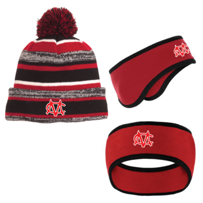 Embroidered CM Logo Winter Headgear - One Size Fits Most