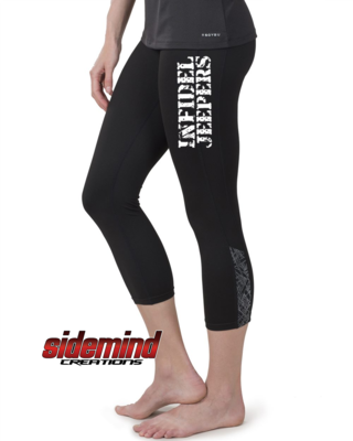 Steel Core Capri Leggings