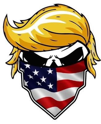 """TRUMP Small Decal 4x2.5"""""""