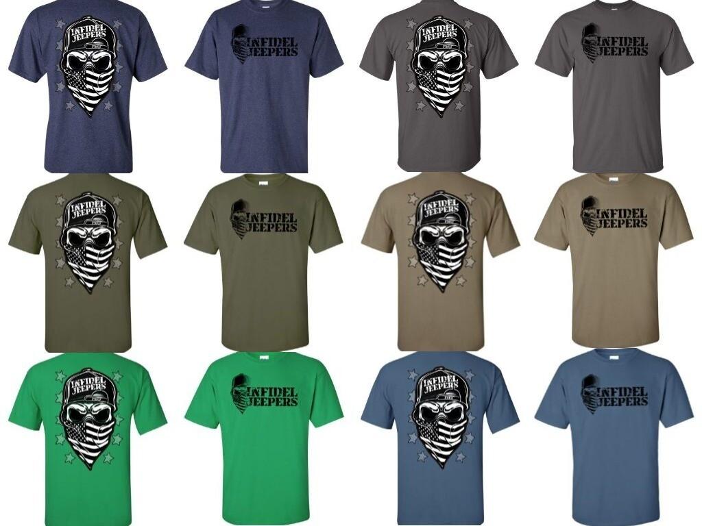 Standard T-Shirt: Skull & Stars