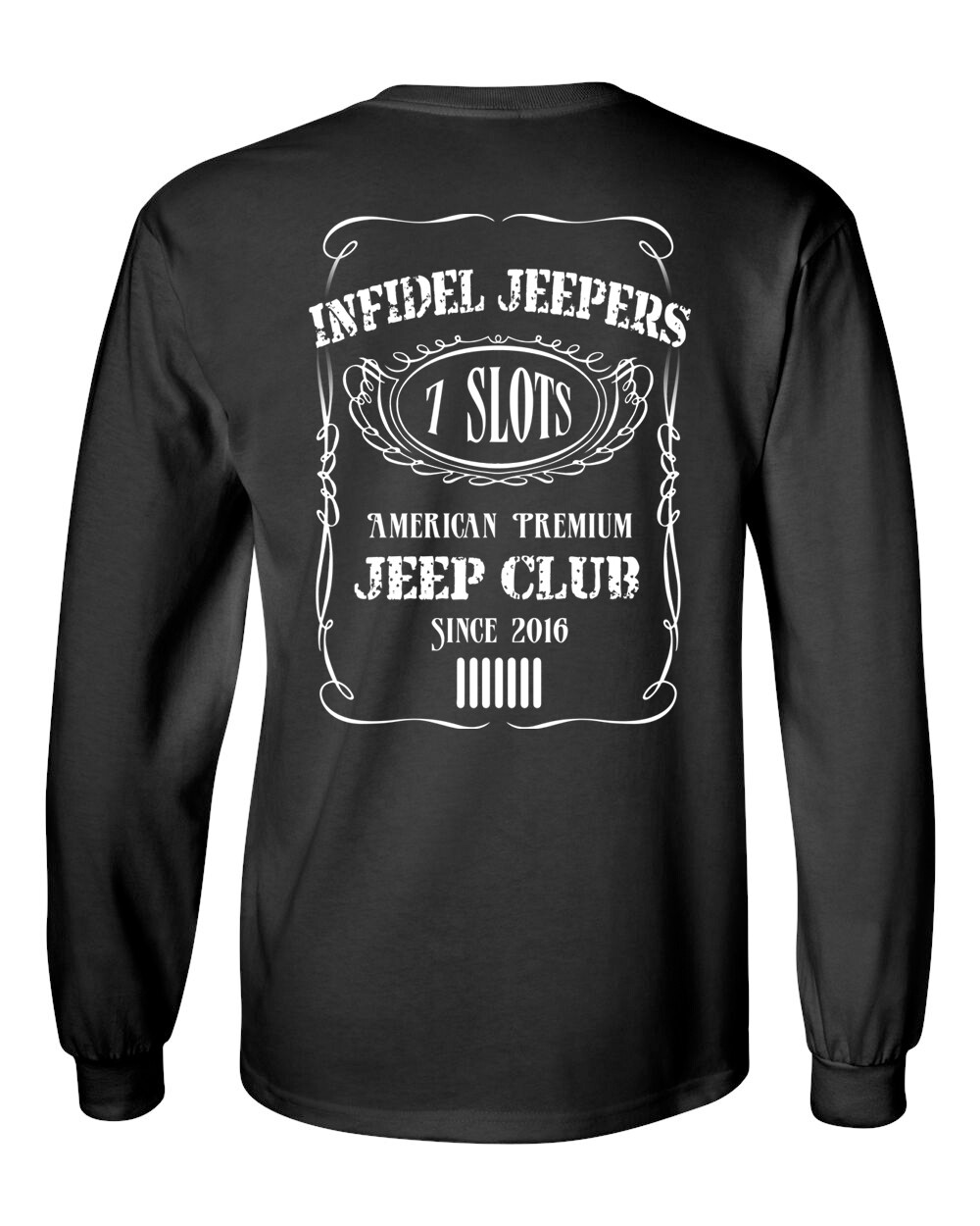 Long Sleeve Standard T-Shirt: Label Back