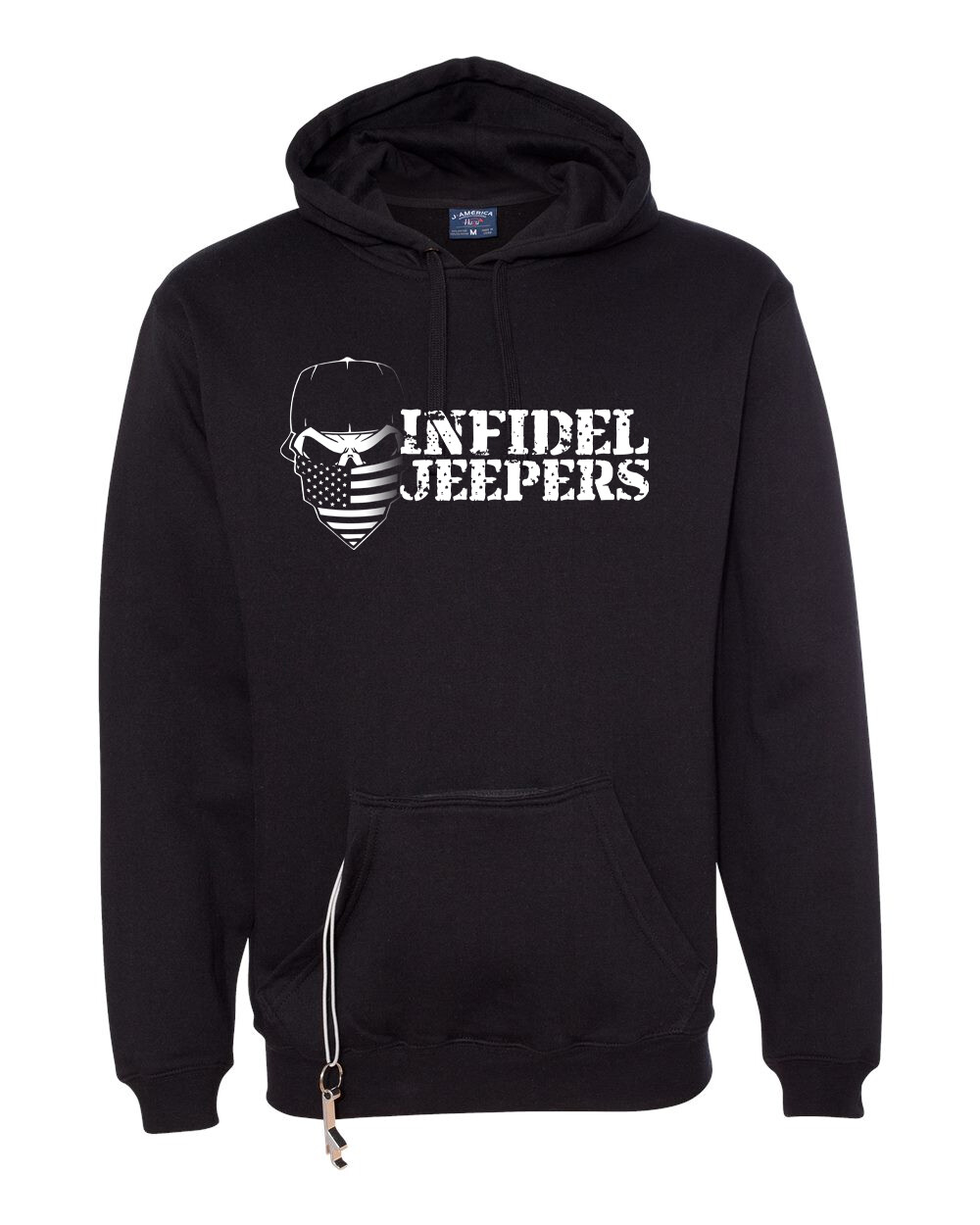 Tailgate Hoodie: Label Back