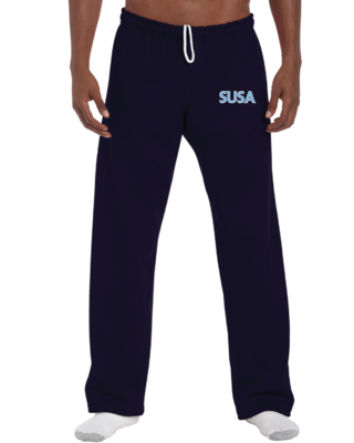 SUSA Gildan Heavy Blend Open Bottom Sweatpant - Adults - Unisex