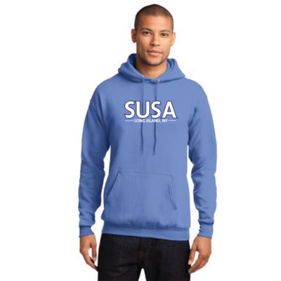SUSA Port & Company - Core Fleece Pullover Hooded Sweatshirt - SUSA Blue