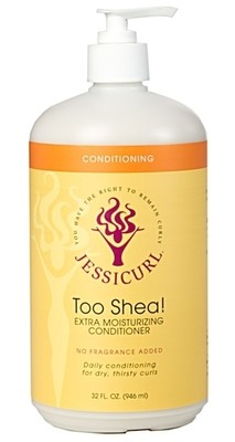 Jessicurl Too Shea! Extra Moisturising Conditioner 946ml (32oz) Island Fantasy