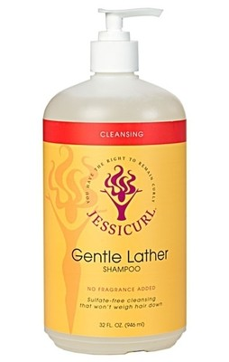 Jessicurl Gentle Lather Shampoo 946ml No Fragrance Added