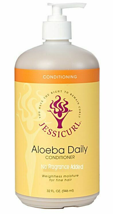 Jessicurl Aloeba Daily Conditioner 946 ml No Fragrance Added