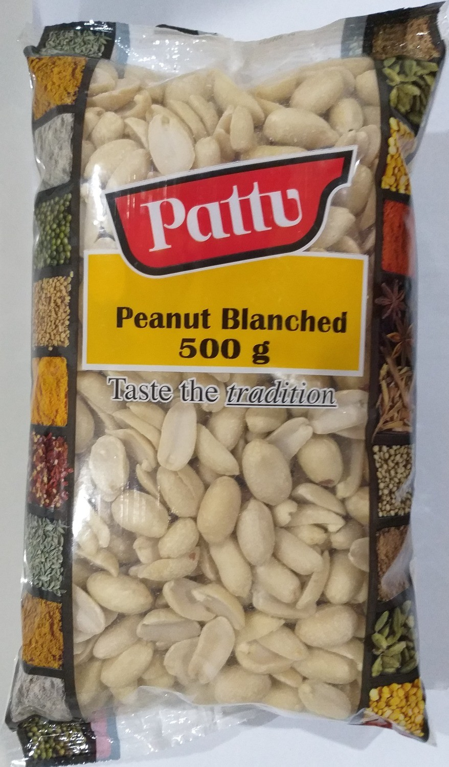 PEANUTS BLANCHED 500GMS
