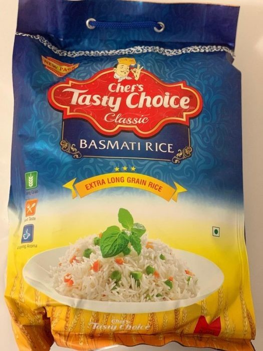 CHEF'S TASTY CHOICE CLASSIC (EXTRA LONG GRAIN RICE) 5KG