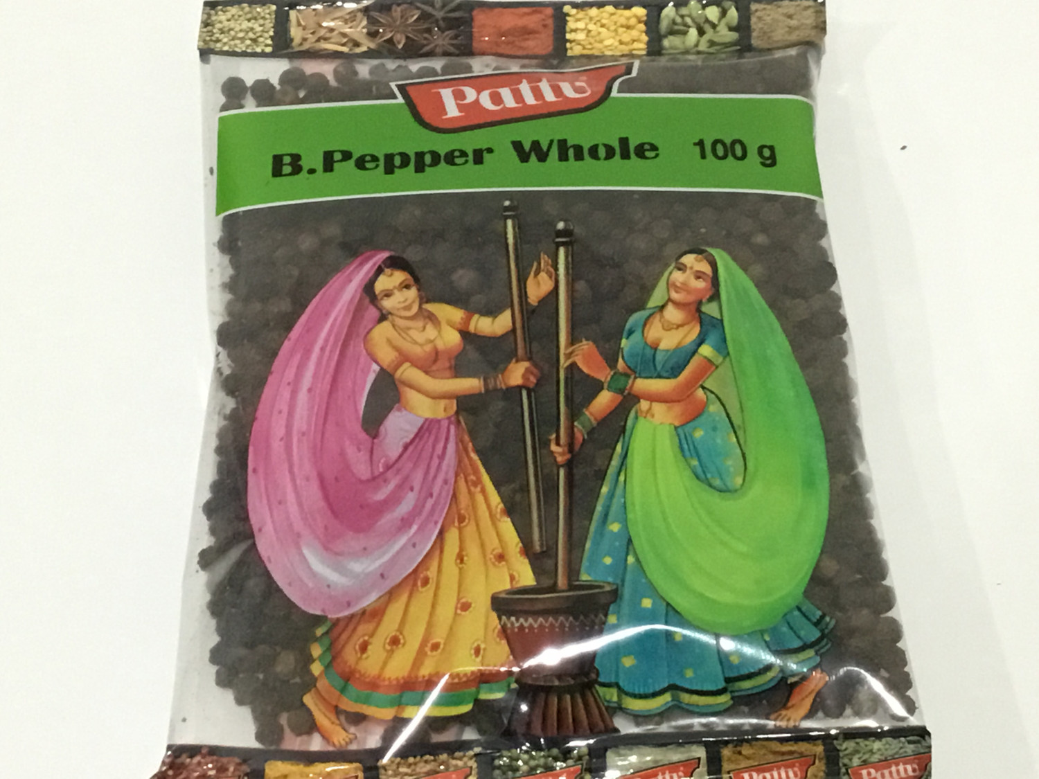 PATTU BLACK PEPPER WHOLE 100 G