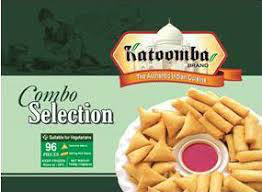 KATOOMBA COMBO SELECTION (Samosa and Spring rolls) 96 PCS