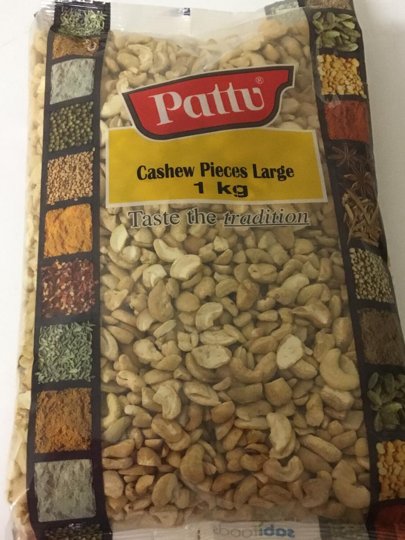 PATTU CASHEW  PIECES LARGE 1KG