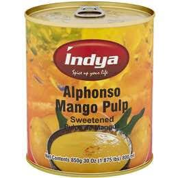 INDYA ALPHANSO MANGO PULP 850 G