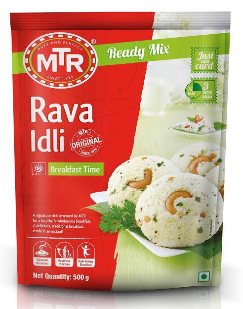 MTR RAVVA IDLI MIX 500 G