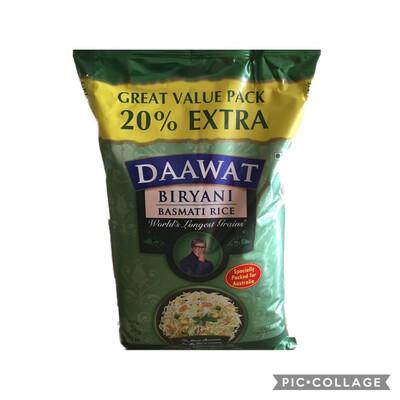 BIRYANI DAWAAT  5 KG ( NOW 1 KG EXTRA - 20% MORE)