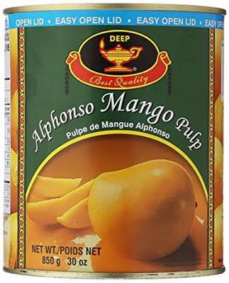 DEEP ALPHANSO MANGO PULP 850 G