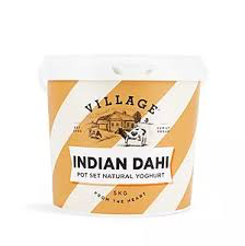 VILLAGE  INDIAN DAHI YOGHURT  5 KG