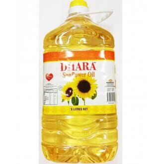 DHARA SUNFLOWER OIL 5L