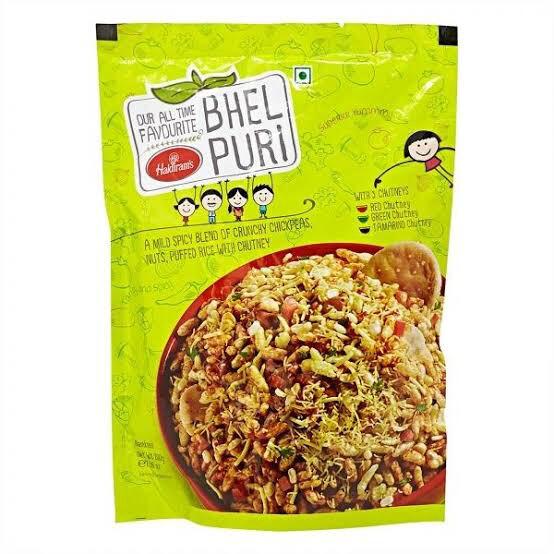 HALDIRAMS BHEL PURI (with chutney) 400 G