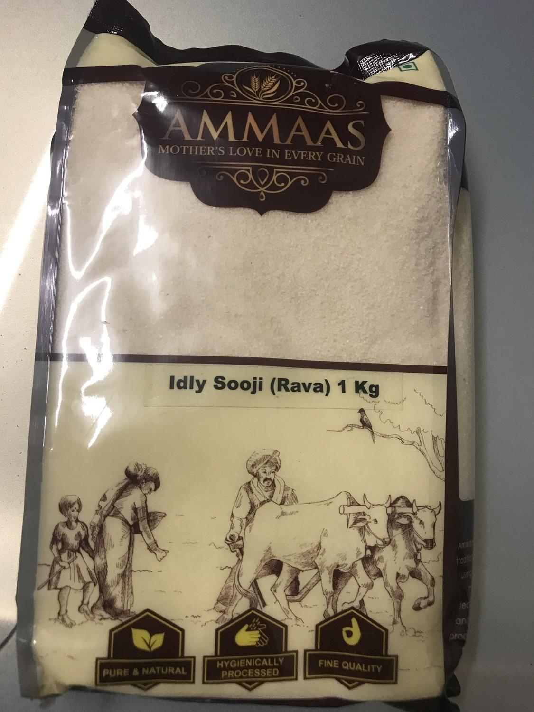 AMMAS IDLI SOOJI (RAVVA) -1KG