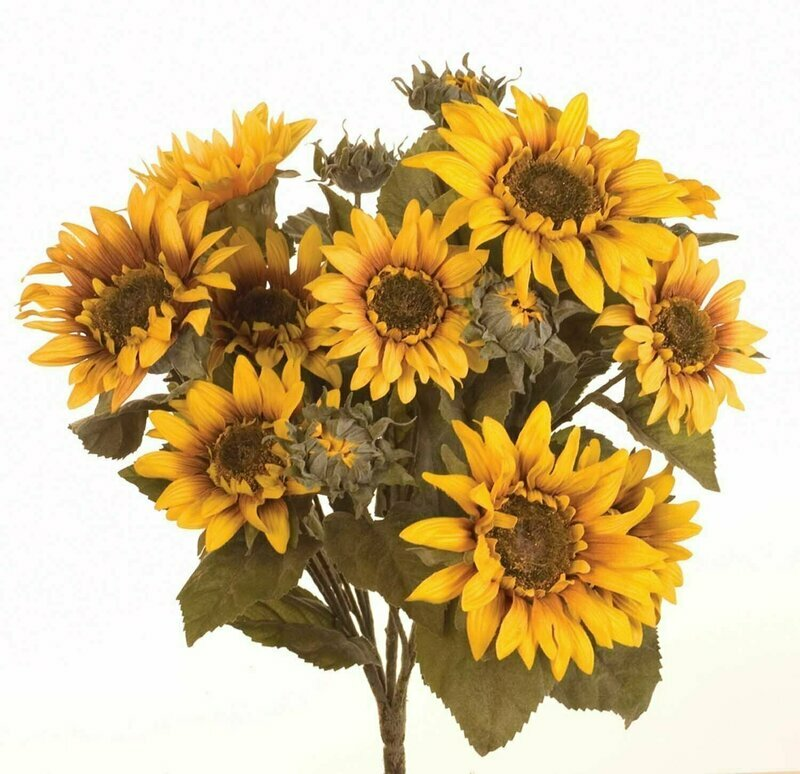SBF04501 - Large Sunflower Bush X17 $16.95 each
