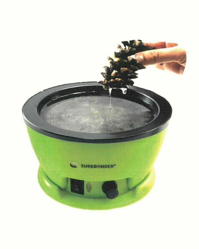 803 - Sure Bonder Adjustable Temperature Electric Glue Skillet (on/off light)