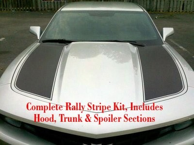 2010 - 2015 Camaro Outer Hood Style Rally Stripe Kit