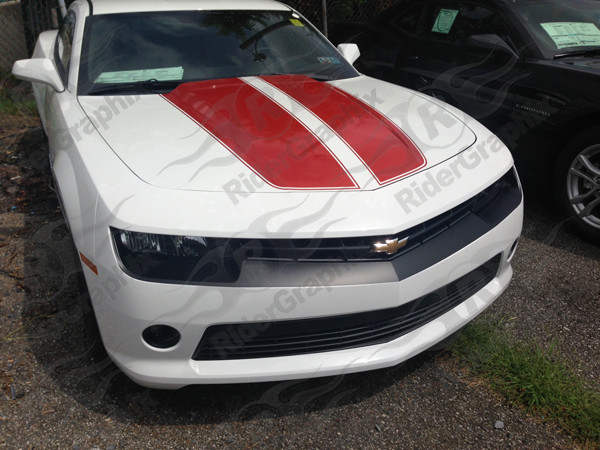 2014 - 2015 Chevrolet Camaro Front Fascia/Headlight Blackout Decals